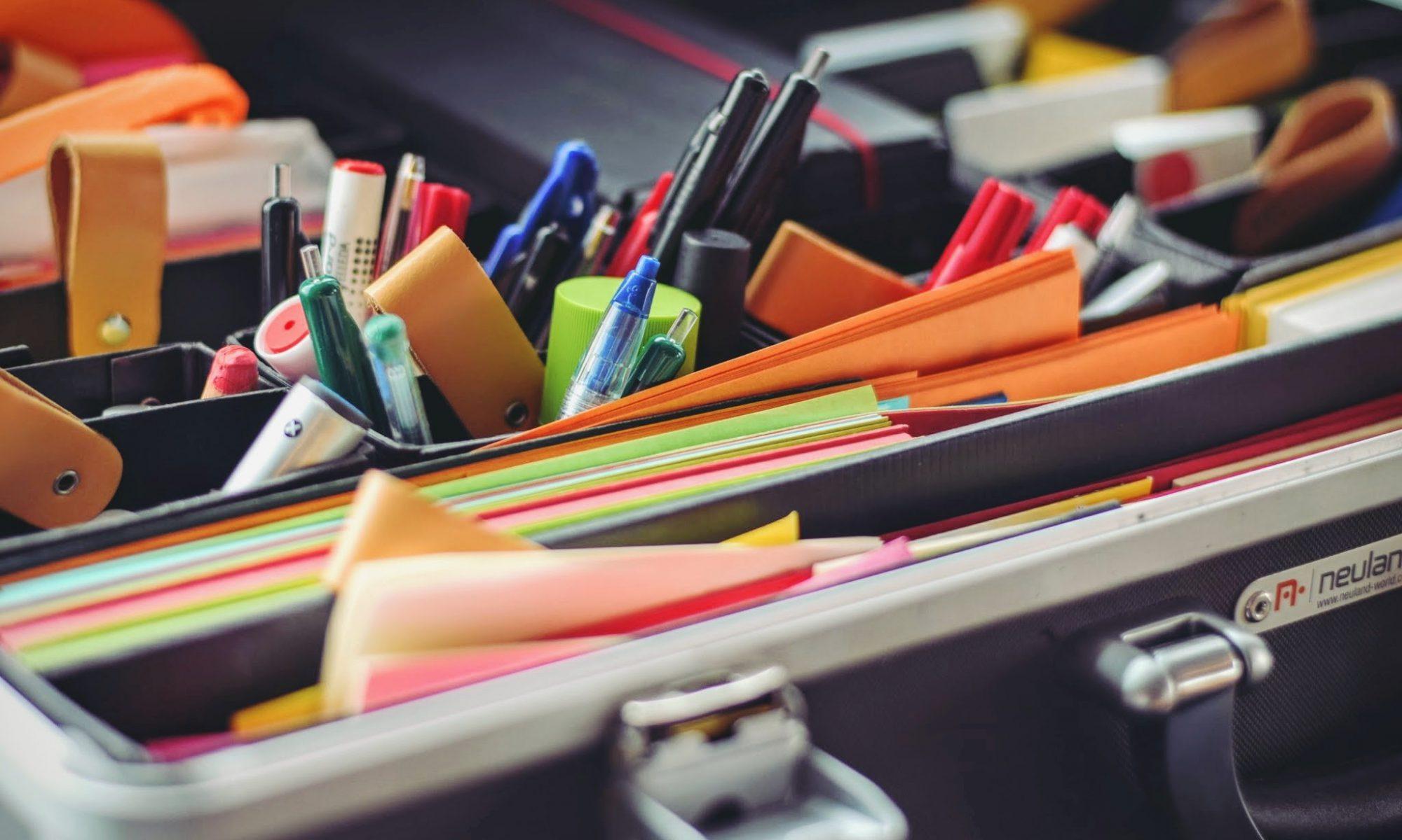Moderationskoffer Materialien Workshop iafob deutschland