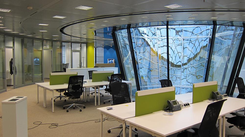Clean Desk Schreibtisch Accenture Berlin