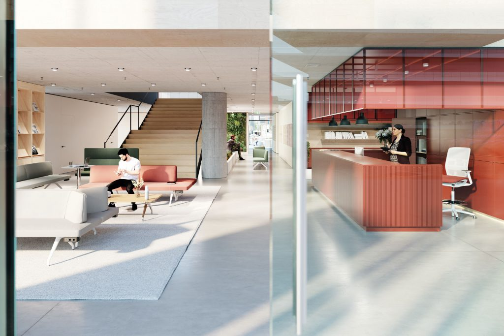Wilkhahn Foyer Human Centered Workspace