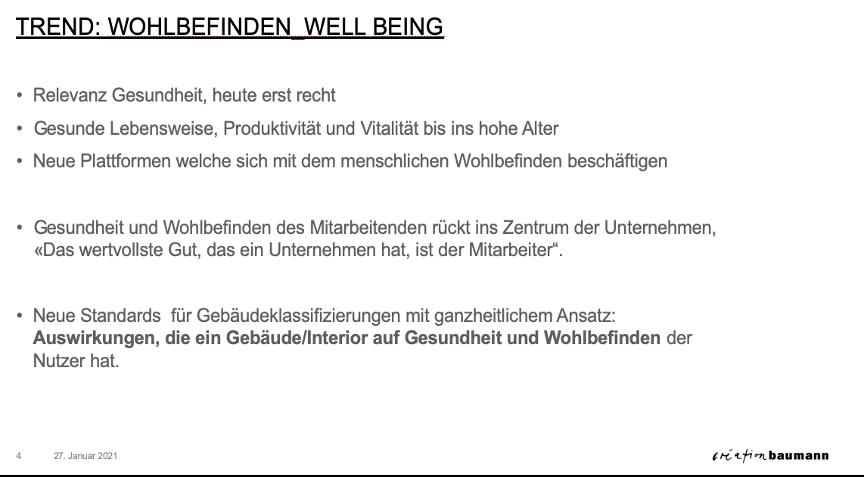 Stefan Camenzind Aussagen über Well-being am Arbeitsplatz